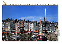 Honfleur France Carry-all Pouch by Tom Prendergast