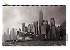 Hong Kong Rain 5 Carry-all Pouch by Tom Prendergast
