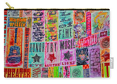 Honor Thy Music Blanket Carry-all Pouch by Dan Sproul
