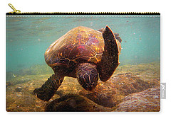 Honu At Kahaluu Carry-all Pouch