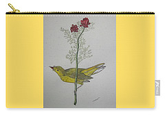 Hooded Warbler Carry-all Pouch by Kathy Marrs Chandler