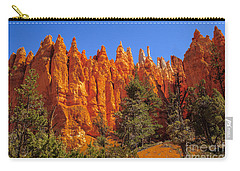 Hoodoos Along The Trail Carry-all Pouch