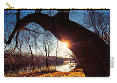 Carry-all Pouch featuring the photograph Hook Or Crook by Robert McCubbin