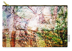 Carry-all Pouch featuring the mixed media Hoosier Country Opus 1 by Sandy MacGowan