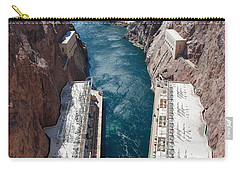 Hoover Dam Black Canyon Carry-all Pouch by John Schneider