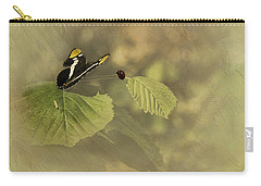 Hop On My Back My Lady And We Will Fly Far Far Away Carry-all Pouch by Diane Schuster