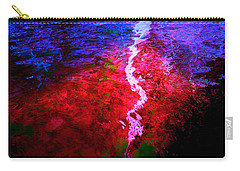 Carry-all Pouch featuring the digital art Hope For A Broken Heart - Healing Art by Absinthe Art By Michelle LeAnn Scott