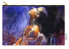 'hope' Woman Portrait  Carry-all Pouch