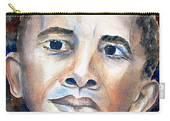 Hopeful - President-elect Carry-all Pouch by Carlin Blahnik