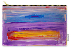 Horizontal Landscape After Rothko Carry-all Pouch