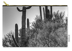 Horn Saguaro Cactus Carry-all Pouch