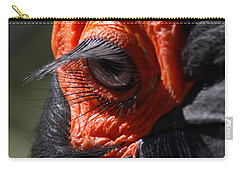 Hornbill Closeup Carry-all Pouch by David Salter