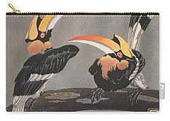 Hornbills Carry-all Pouch by Ethleen Palmer