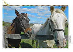 Horse Beauties Carry-all Pouch