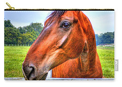 Horse Closeup Carry-all Pouch