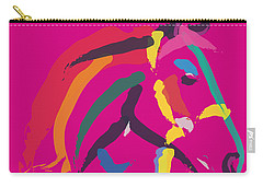 Horse - Colour Me Strong Carry-all Pouch by Go Van Kampen