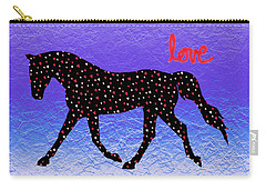 Horse Hearts And Love Carry-all Pouch