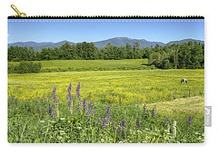 Horse In Buttercup Field Carry-all Pouch