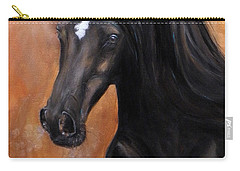 Horse - Lucky Star Carry-all Pouch by Go Van Kampen
