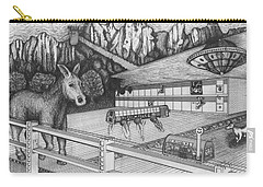 Horse Perspective Carry-all Pouch