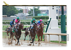 Horse Races At Churchill Downs Carry-all Pouch