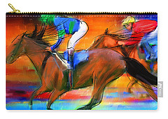 Horse Racing II Carry-all Pouch