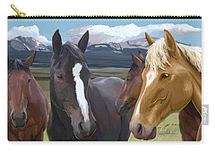 Horse Talk Carry-all Pouch