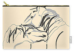 Horse - Together 4 Carry-all Pouch by Go Van Kampen