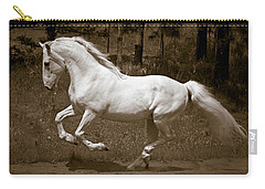 Carry-all Pouch featuring the photograph Horsepower D5779 by Wes and Dotty Weber
