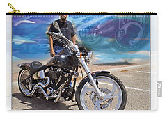 Horses Of Iron10 Carry-all Pouch by Walter Herrit