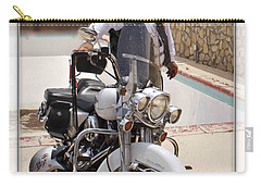 Horses Of Iron2 Carry-all Pouch by Walter Herrit