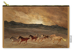 Horses Of Stone Carry-all Pouch
