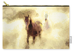 Horses Of The Mist Carry-all Pouch
