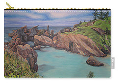 Horseshoe Bay Beach Bermuda Carry-all Pouch