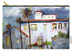 Hospitality House Carry-all Pouch by Carlin Blahnik