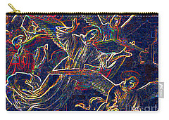 Carry-all Pouch featuring the digital art Host Of Angels By Jrr by First Star Art