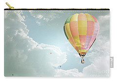 Hot Air Balloon Enchanted Clouds Carry-all Pouch by Andrea Hazel Ihlefeld