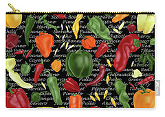 Hot For Chilis Carry-all Pouch