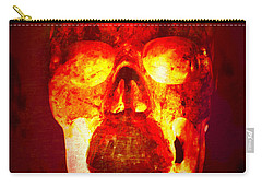Hot Headed Skull Carry-all Pouch