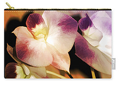 Hot Orchid Nights Carry-all Pouch by Holly Kempe