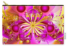 Hot Orchid Carry-all Pouch by Sylvia Thornton