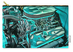 Hot Rod Engine Carry-all Pouch by Victor Montgomery