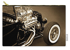 Vintage Car Carry-all Pouch featuring the photograph Hot Rod Power  by Aaron Berg