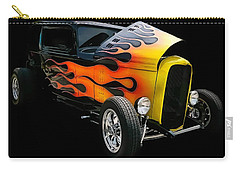 Carry-all Pouch featuring the photograph Hot Rod by Victor Montgomery