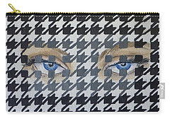 Houndstooth Eyes Carry-all Pouch