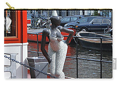 Carry-all Pouch featuring the photograph Houseboat Chanteuse by Allen Beatty