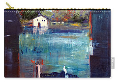 Houseboat Shadows Carry-all Pouch