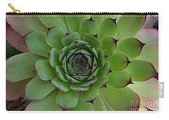 Houseleek Sempervivum Carry-all Pouch