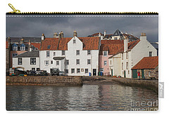Houses At Pittenweem Harbor Carry-all Pouch