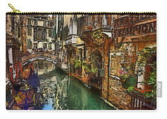 Houses In Venice Italy Carry-all Pouch